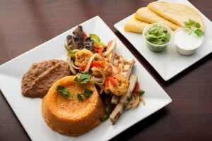 Fajita with Different Meat Options