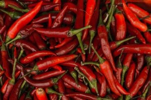 Red Jalapeno Pepper Background